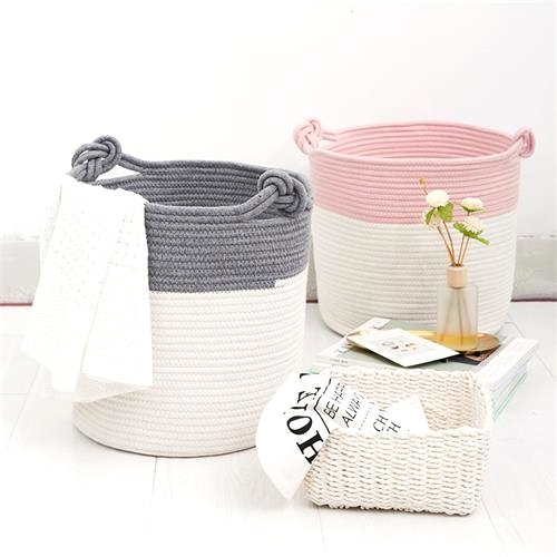 """cheap rope basket"""
