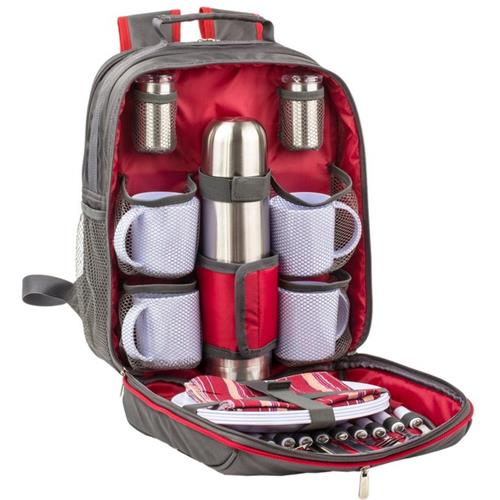 """backpack picnic set"""