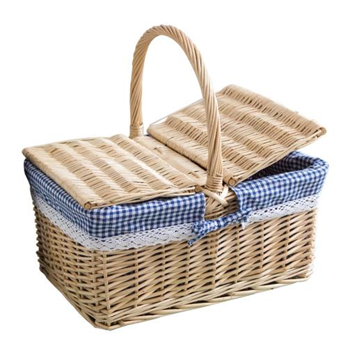 """wicker hamper"""