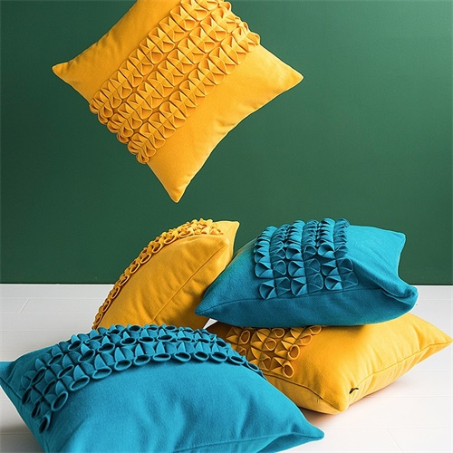 """blue cushion covers"""