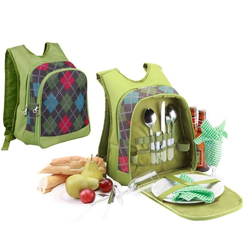 """picnic backpack for 2"""